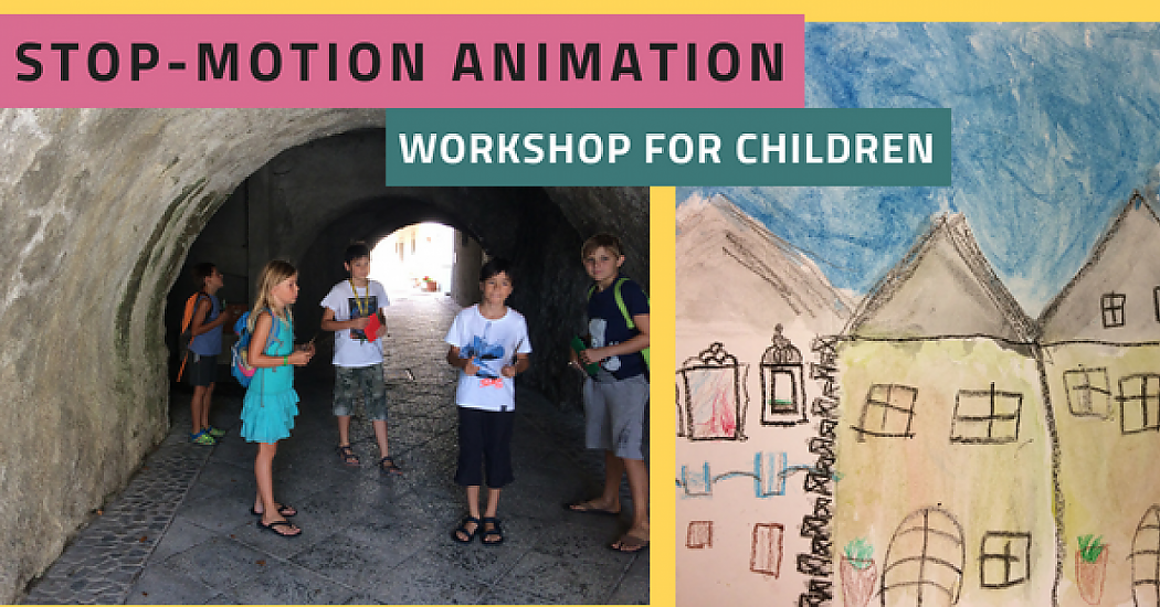 Stop-motion animation workshop with kids
