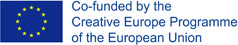 EU - Co-founded by the Creative Europe Programme of the European Union